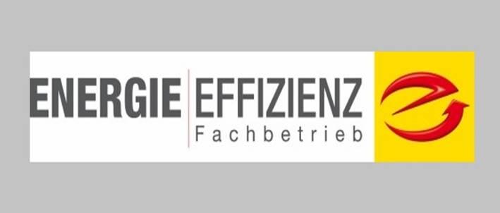 Logo Energieeffizienz Fachbetrieb